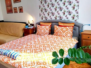 Cosy studio close to the center of Budapest with Internet, Washing machine, Air