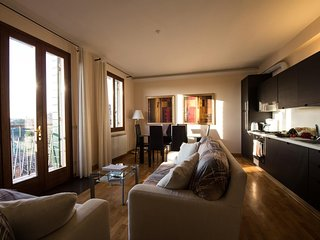 Spacious apartment close to the center of Venice with Internet, Washing machine,