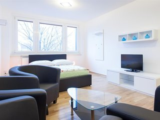 Apartment 36 m from the center of Berlin with Internet, Lift, Washing machine (3