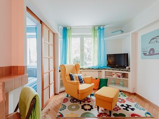 Cozy apartment in Warsaw with Internet, Washing machine