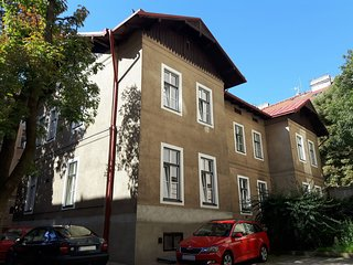 Apartment 365 m from the center of Prague with Internet, Air conditioning, Parki