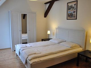Spacious apartment close to the center of Budapest with Parking, Internet, Air c