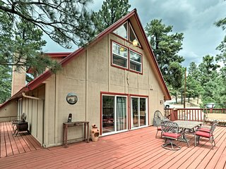 NEW! Home w/Game Room & Deck Near Downtown Ruidoso