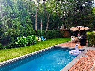 Fantastic Sag Harbor 3 bed w Pool & great location
