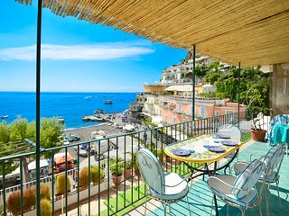 Charming house CASA RAFFI with sea view near Positano's Spiaggia Grande beach
