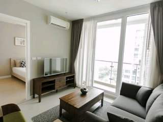 COZY TOP VIEW APARTMENT / 1BR / POOL / FITNESS / CENTER OF BANGKOK