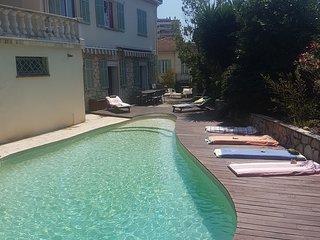 Villa Magali au calme proche centre  Antibes et Juan les Pins