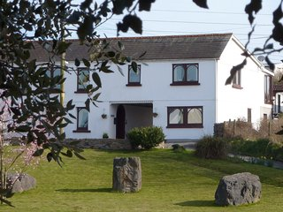 Banfield Lodge on Loughor Estuary.