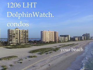 LHT-1206 Gulf-Front Paradise w/ Water Views at Every Window--Updated