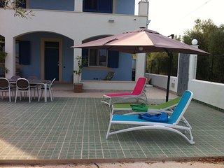 casa vacanza in villa
