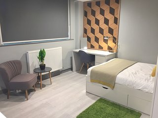 Modern Studio Apartment in City Centre 101