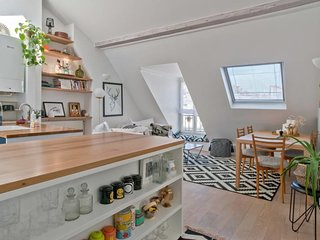 Very cosy flat for 4p near Montmartre