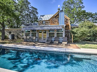 Fredericksburg Home w/ Pool on 22-Acre Farm!