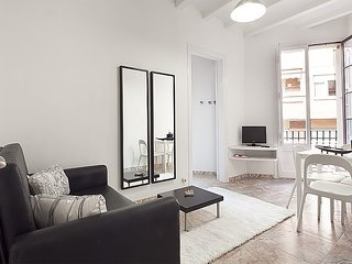 Cozy apartment in Barcelona with Internet, Washing machine, Air conditioning, Ba
