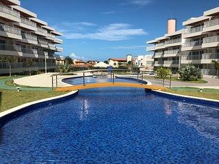 Lindo Apto 3 suites, 110m2, Luxo, piscinas, a 600m do BeachPark, lazer completo