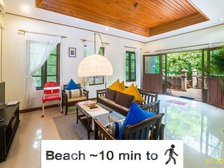 ♥ Resort Near beach, restaurants - Privat Pool Villa Ko-Beauty Resort