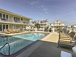 NEW! Cozy Wildwood Condo by Pool-Block from Beach
