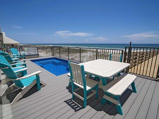 Gulf Front  8 Bed ~ Private Pool (Heated) ~ Sleeps up to 24  ~ Yassy Beach House