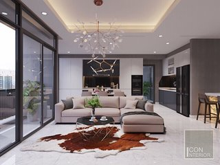 VINHOMES LUXURIOUS STYLE HOME-2/BED