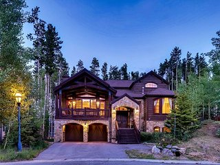 New Listing! Mountain elegance located a short walk to the Base of Peak 8