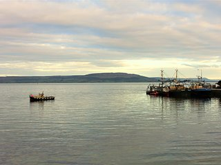 Moville Harbour views from Sitting Room