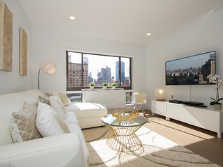 Modern 2BR 2BA home near Times Square in Midtown. Super central location
