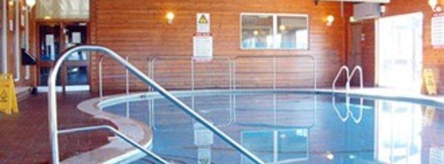 Communal Indoor swimming pool with sauna