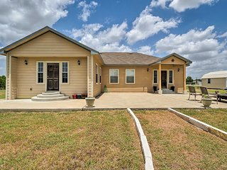 NEW! Austin Home on 3 Acres by F1 Racing Circuit!