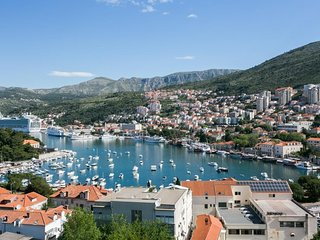 Apartment 1 km from the center of Dubrovnik with Internet, Air conditioning, Ter