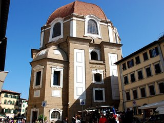Apartment in the center of Florence with Internet, Air conditioning, Terrace, Ga