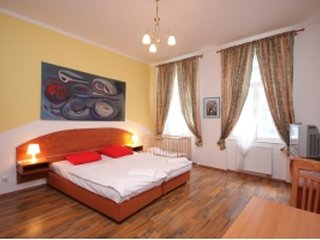 Apartment 426 m from the center of Prague with Internet, Lift, Parking (918223)