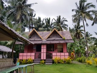 Our rustic cottage at Tuason point