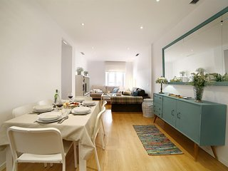 Spacious apartment in the center of Málaga with Lift, Internet, Washing machine,