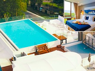♥180° view Pool♥ New Apartments. 45 m2  -   703