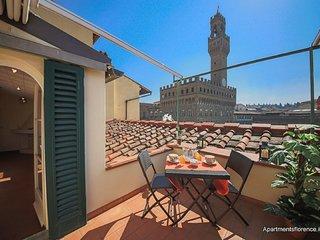 Piazza Signoria Terrace – Breathtaking View