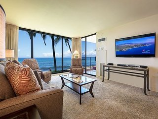 Newly Decorated Mahana Condo 215 Breathtaking Full Ocean View in Kaanapali!