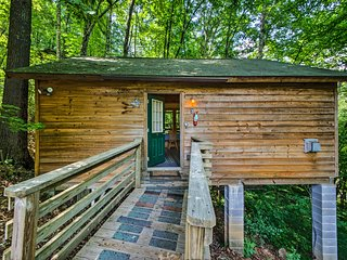 Secluded Nantahala 'Gone Hunting' Cabin w/Hot Tub!
