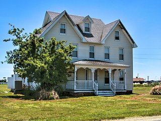 NEW! Historic Hoopersville Home on Chesapeake Bay!
