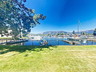 2BR,1.5 BA Tahoe Keys Condo w/ Mountain & Canal Views, Private Boat Dock