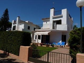 Villa and front garden