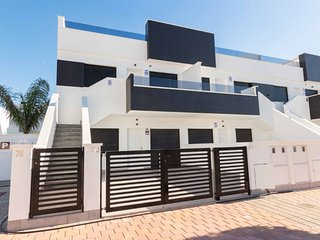 Penthouse in San Pedro del Pinitar, roof terrace, 2 bedrooms, 2 bathrooms, 4p.