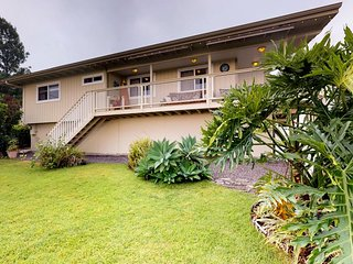 NEW LISTING! Hilltop family house with wraparound ocean view lanai and garage