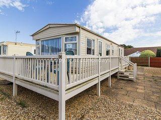 4 berth caravan at Breydon Water Holiday Park. Near Great Yarmouth. REF 10098