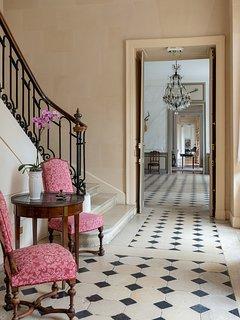 The hallway.