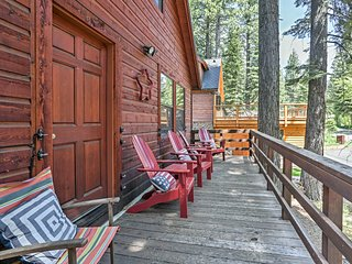 Rustic Tahoe City Cabin w/ Deck - Walk to Lake
