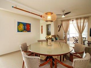 Lindo Apartamento 2 Dormitórios na praia de Bombas