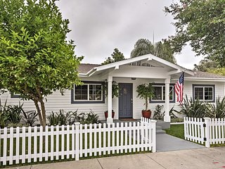NEW-Classic California Cottage-1 Mi. to Disneyland