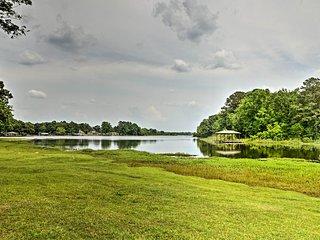 Jordan Lake Home w/Shared Dock & Boat Slip!