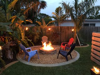 Lushly Landscaped Home, Minutes from Beach
