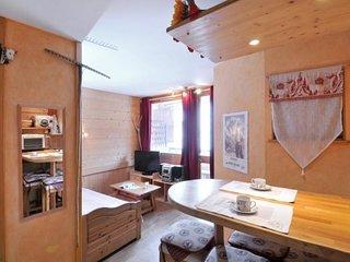 Appartement au ceour de la station compose de 2 pieces pour 4 personnes